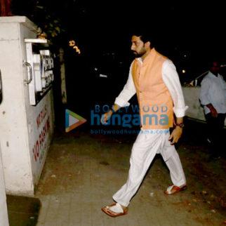 Abhishek Bachchan snapped in Juhu