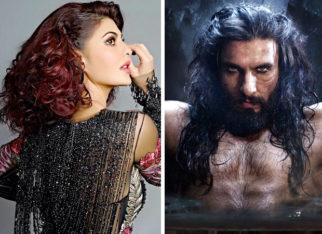 After Salman Khan, Jacqueline Fernandez backs Sanjay Leela Bhansali's Padmavati