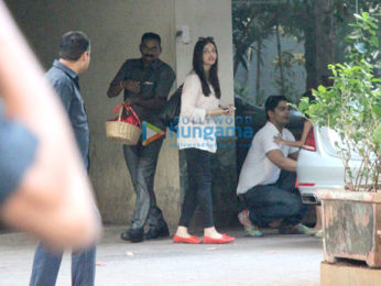 Aishwarya Rai Bachchan spotted at her mother's house