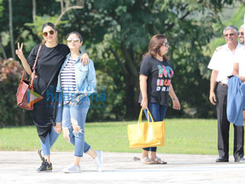 Alia Bhatt, Deepika Padukone and Sidharth Malhotra snapped at Shah Rukh Khan's birthday party in Alibaug