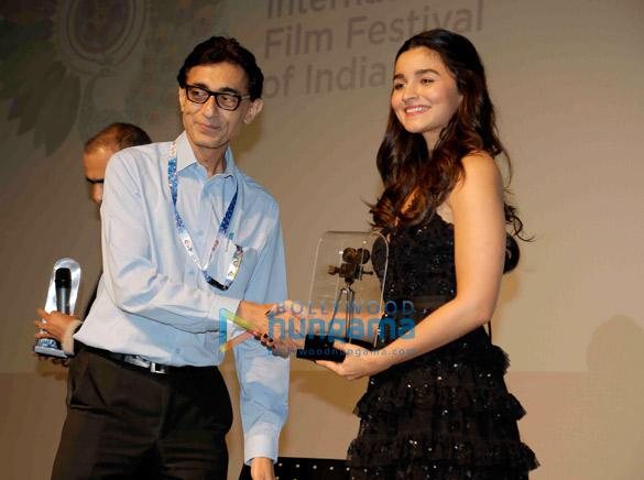 Alia Bhatt, Karan Johar and Ekta Kapoor snapped attending IFFI 2017