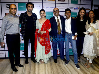 Alia Bhatt and Ranbir Kapoor at Nehru Centre to spread awarness on organ donation