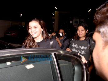 Alia Bhatt snapped at PVR Juhu