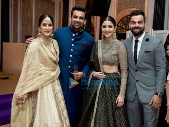 Anushka Sharma Wedding.Anushka Sharma Virat Kohli Others Attend Zaheer Khan Sagarika