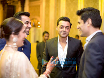Anushka Sharma, Virat Kohli & others attend Zaheer Khan- Sagarika Ghatge's wedding reception