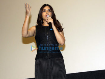 Bhumi Pednekar snapped attending the Masterclass on Breaking Stereotypes at IFFI 2017