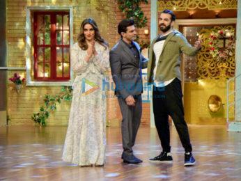 Bipasha Basu and Karan Singh Grover shoot for The Drama Company
