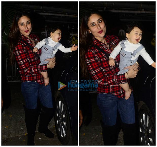 CUTE! Kareena Kapoor Khan strikes a pose with an excited baby Taimur Ali Khan (2)