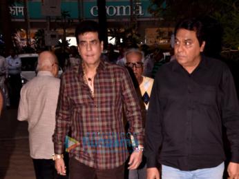 Celebs attend the prayer meet for the late Mohan Kumar