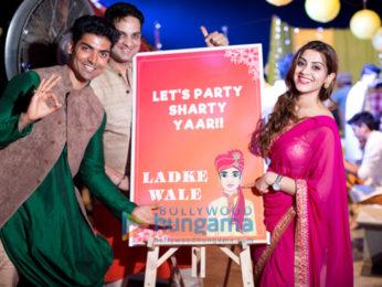 Celebs attend Saurabh Pandey And Zara Barring's Mehndi celebrations
