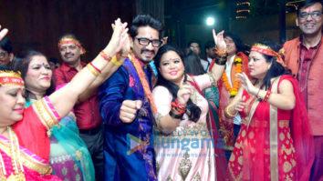 Celebs grace Harsh Limbachiyaa and Bharti Singh's Mata Ki Chowki