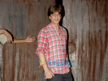 Celebs grace Shah Rukh Khan's birthday party