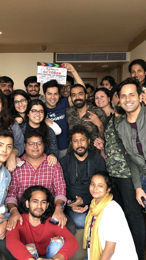 Check out It's a wrap for first schedule of Varun Dhawan's October in Delhi (2)