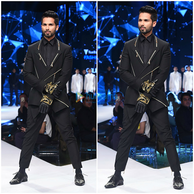 Check out Shahid Kapoor looked sharp and dapper as a showstopper at GQ Fashion Nights (1)