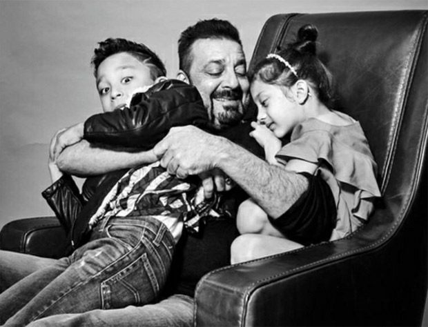 Cute! Sanjay Dutt shares his pictures with his kids on Children's Day (3)