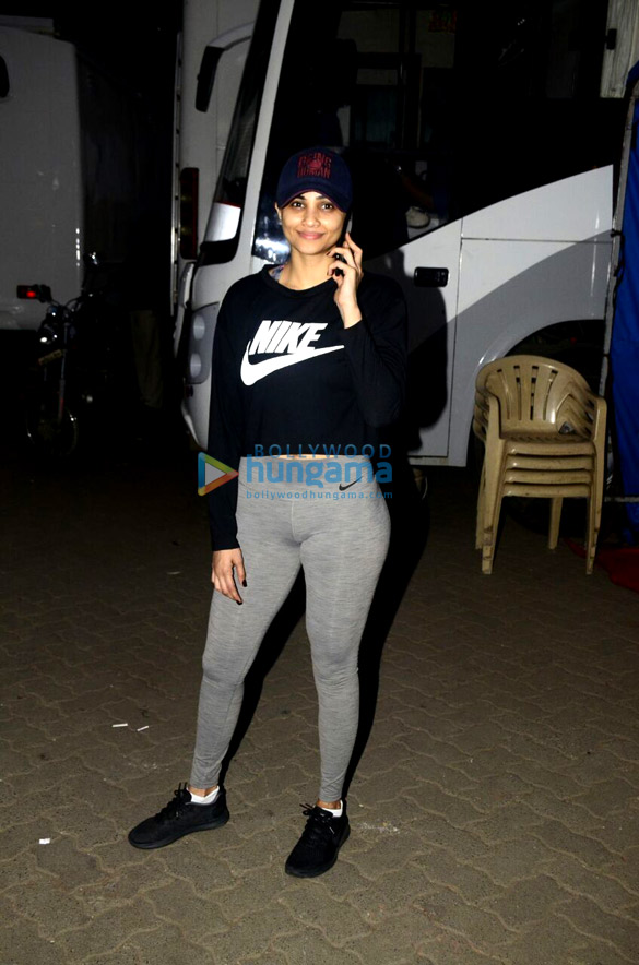 Daisy Shah snapped at Mehboob studio