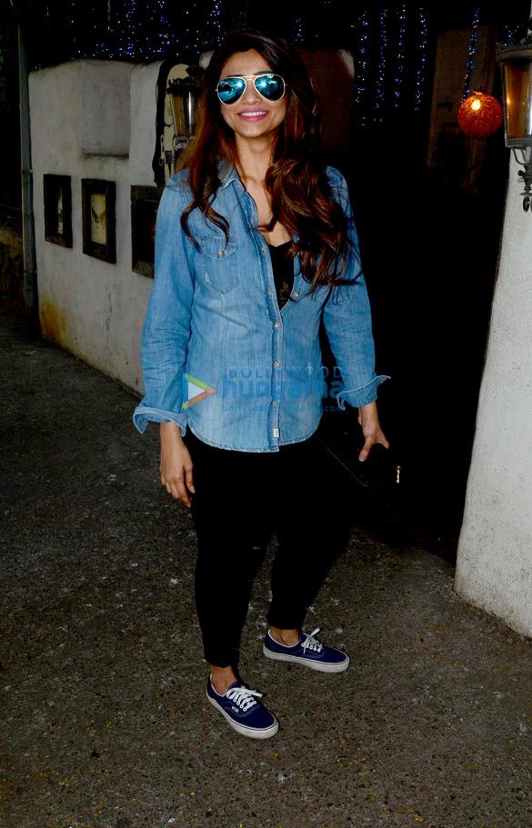 Daisy Shah spotted at Hakim Alim in Bandra-