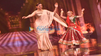 Deepika Padukone promotes Padmavati on the sets of Super Dancer