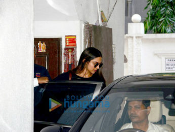 Deepika Padukone snapped at a clinic