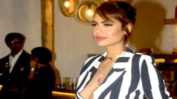 Esha Gupta snapped at Olive in Bandra