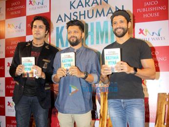 Farhan Akhtar launches Karan Anshuman's book 'Kashmir Nama'