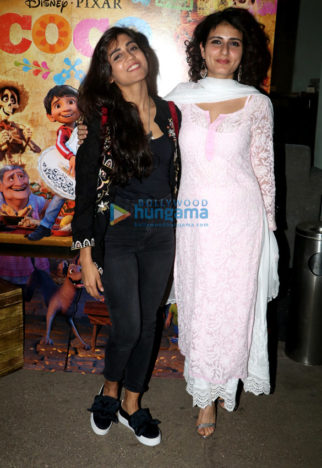 Fatima Sana Shaikh, Manish Paul and others grace the special screening of 'Coco'