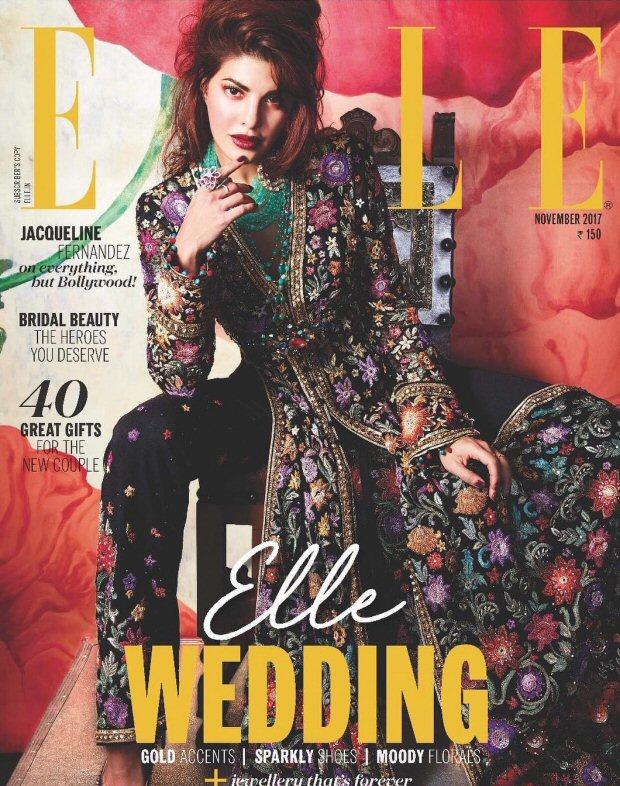 HOTNESS Jacqueline Fernandez is an absolute stunner on Elle magazine's wedding special!