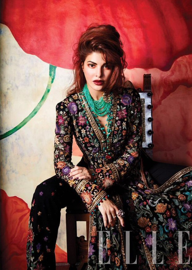 HOTNESS Jacqueline Fernandez is an absolute stunner on Elle magazine's wedding special!2