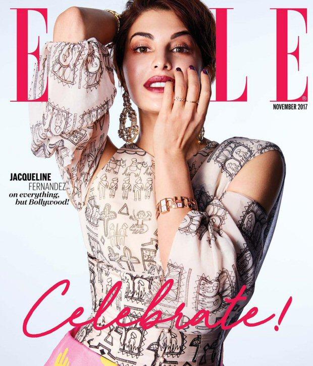 HOTNESS Jacqueline Fernandez is an absolute stunner on Elle magazine's wedding special!3