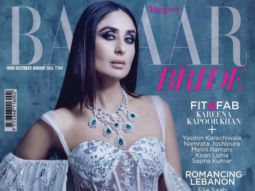 Kareena Kapoor Khan On The Cover Of Harper's Bazaar, Jan 2018