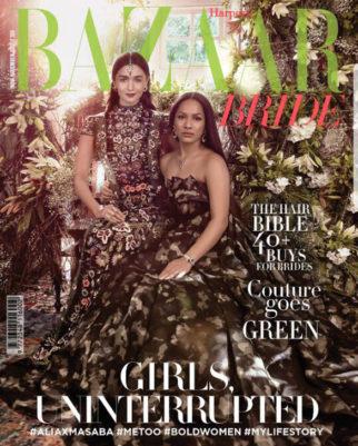 Alia Bhatt On The Cover Of Harper's Bazaar