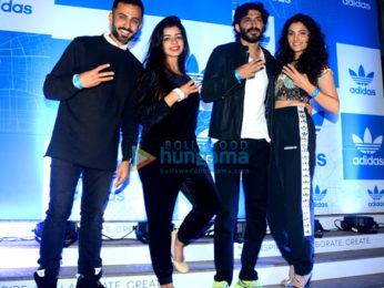 Harshavardhan Kapoor, Saiyami Kher and Anand Ahuja attend a bash of Adidas