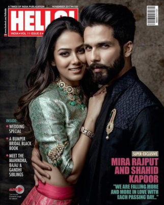 Shahid Kapoor On The Cover Of Hello! Magazine