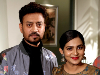 Irrfan Khan and Parvathy Thiruvothu at a Photoshoot and Press Meet for 'Qarib Qarib Singlle'