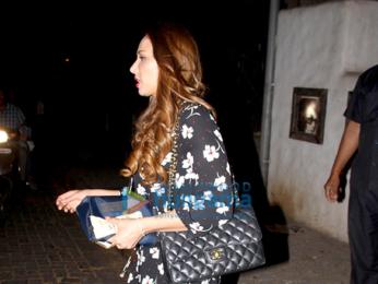 Iulia Vantur spotted at Aalim Hakim's salon in Bandra