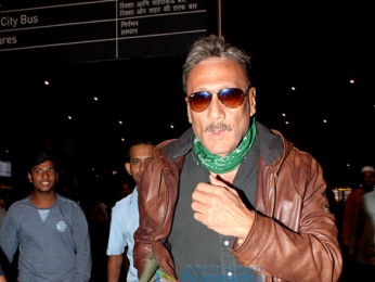 Jackie Shroff, Karan Johar and others spotted at the airport