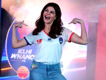 Jacqueline Fernandez announced as brand ambassador of Delhi Dynamos in New Delhi
