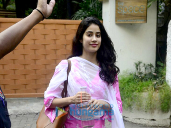 Janhvi Kapoor spotted at dance class