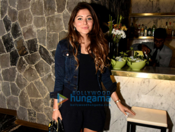 Kanika Kapoor graces the launch of the new menu at Clearing House