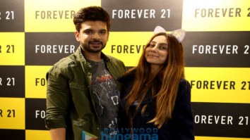 Karan Kundra and Anusha Dandekar launch Forever 21's store in Amritsar