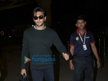 Kareena Kapoor Khan and Ranveer Singh snapped at the airport