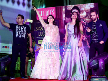 Karisma Kapoor snapped attending a fashion event in Lucknow