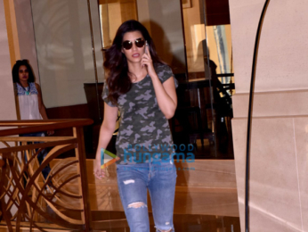 Kriti Sanon snapped at a hotel