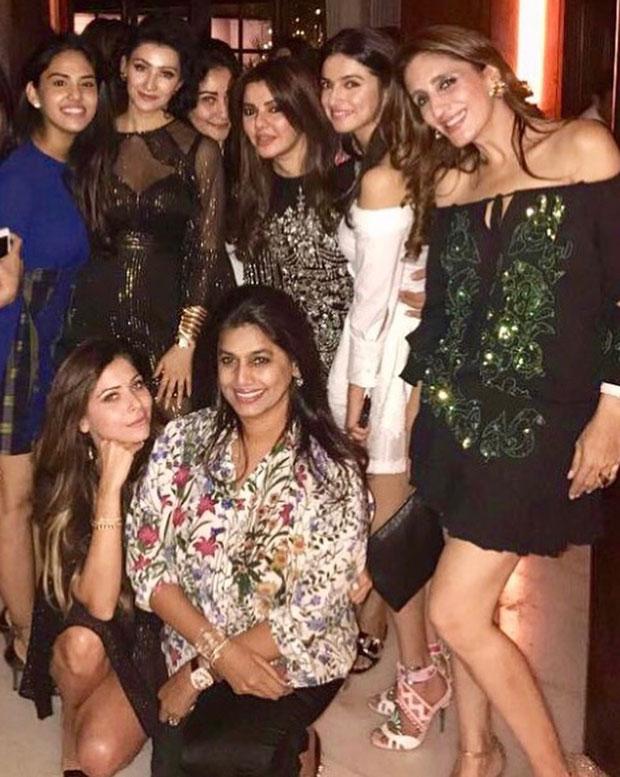 Maanyata Dutt, Ekta Kapoor groove at this birthday bash with their girl gang-2