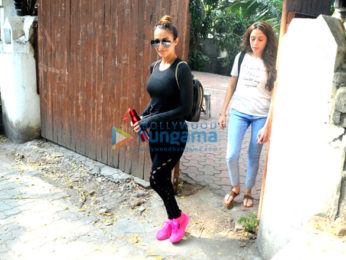 Malaika Arora snapped after her rehearsals in Bandra
