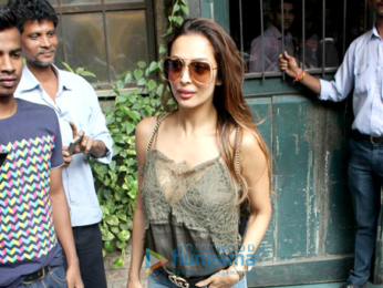 Malaika Arora spotted at Pali Village Cafe