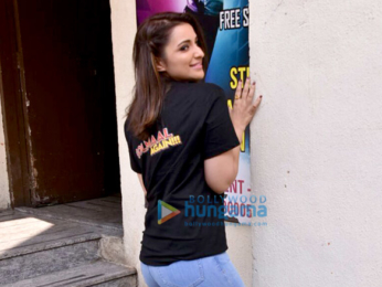 Parineeti Chopra snapped at the special screening of Golmaal Again for Smile Foundation at PVR Juhu