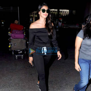Pooja Hegde snapped at Mumbai airport as she arrived from Hyderabad