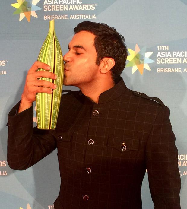 Rajkumar wins Best Actor award for Newton (1)