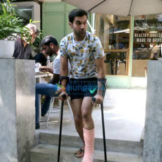 Rajkummar Rao spotted at The Kitchen Garden